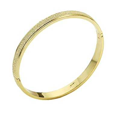 O.R.® (Old Rubin)bracelet femme Stainless steel + 18K gold plated ,(