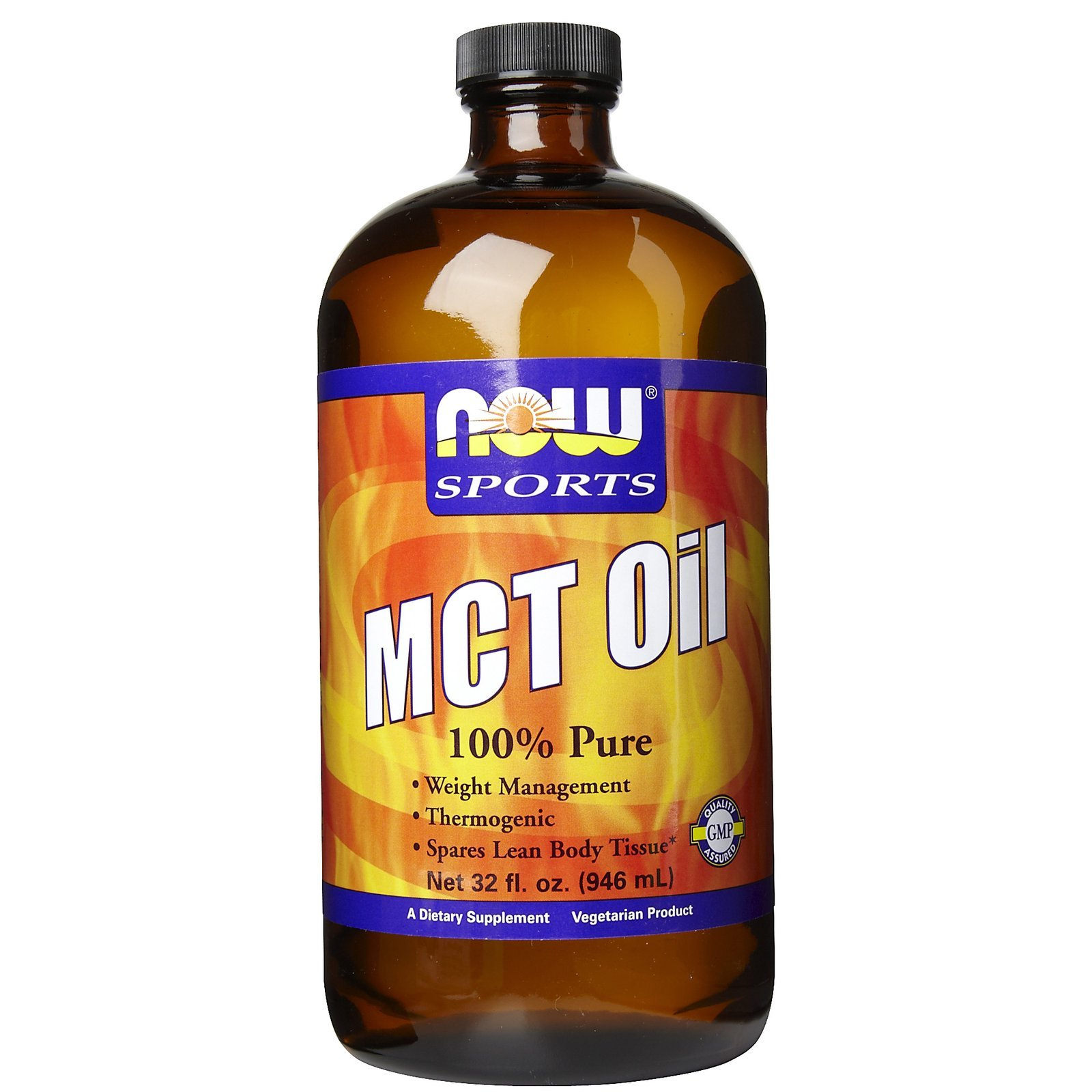 Now Foods 100% MCT Oil, 32 Ounce