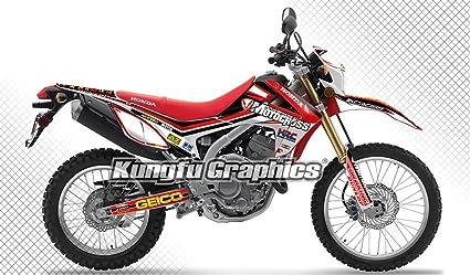 Amazoncom Kungfu Graphics Custom Decal Kit For Honda Crf250l