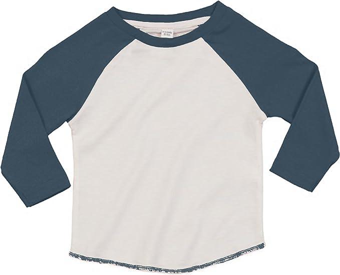 Babybugz - Camiseta de manga larga estilo béisbol de algodón ...