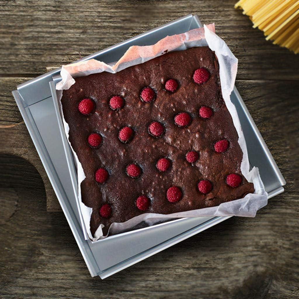 4-10 Inch DIY Square Non Stick Cake Pan Pie Loaf Toast Bread Mold Bakeware Tray Baking Supplies 10# Kimnny Cake Pan