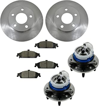 For Malibu Alero Cutlass Grand Am Front Ceramic Disc Brake Pad New