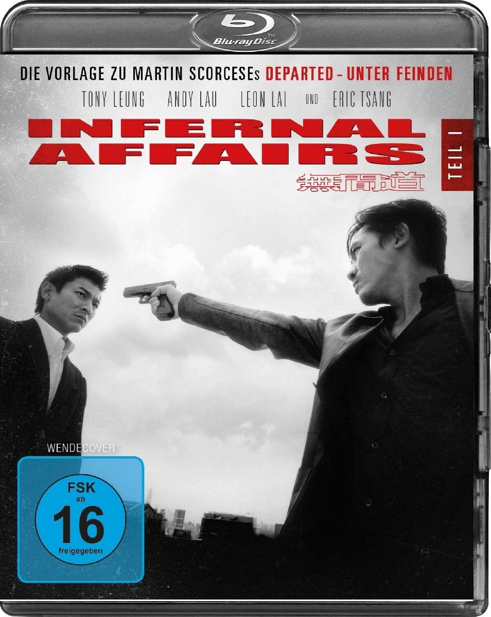 Infernal Affairs: Amazon.co.uk: DVD & Blu-ray