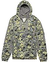 Chabos IIVII Half-Zip Hooded Jacket digi ops green camo