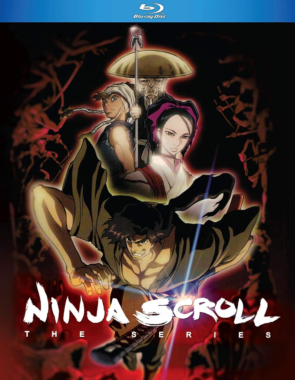 Amazon Com Ninja Scroll The Series Blu Ray Rikiya Koyama Tatsuo Sato Movies Tv