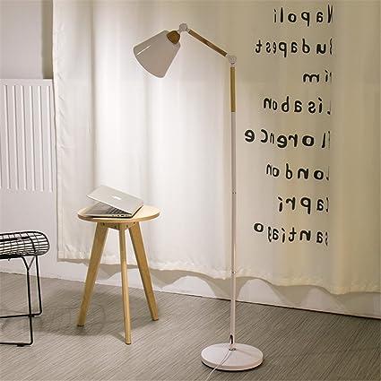WQRTT Lámpara de pie Moderno Minimalista LED Pesca con luz ...