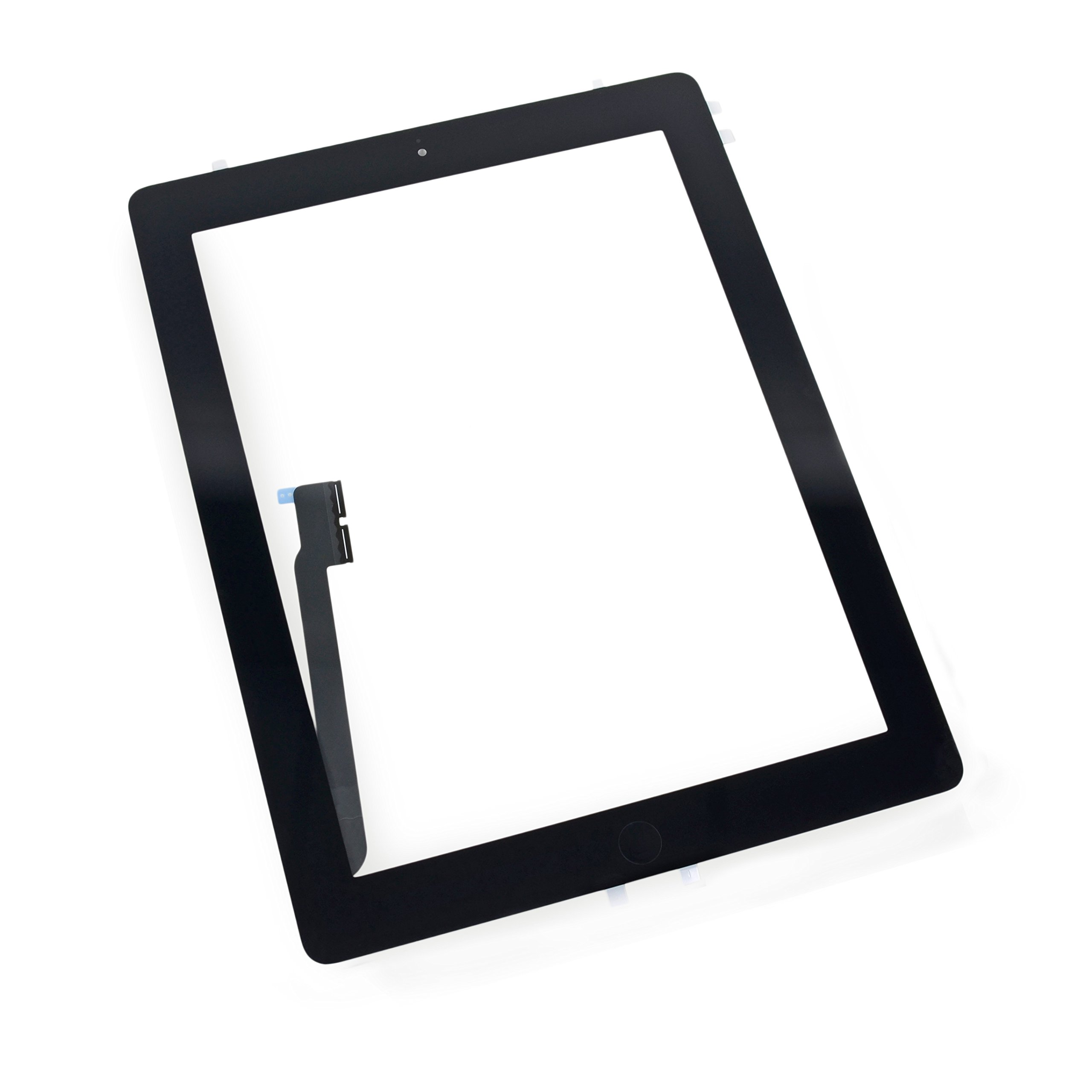 Front Glass/Digitizer Touch Panel Full Assembly Replacement for iPad 4 - Black