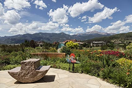 24 x 36 giclee print of view from the garden of the gods club a country - Garden Of The Gods Club