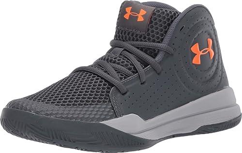 Under Armour - Zapatillas de Baloncesto para niños, Gris (Parcela ...