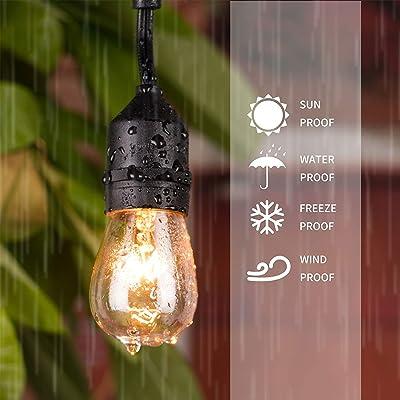 E26 Medium Candelabr... Pack of 20pcs 11 Watt S14 Warm Replacement Glass Bulbs