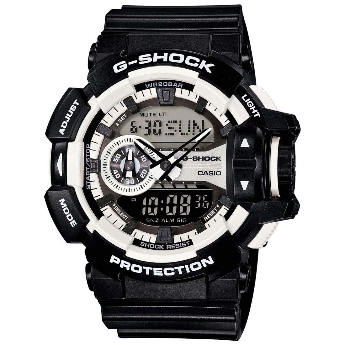 71feb21482cd Buy Casio G-Shock Analog-Digital Grey Dial Men s Watch-GA-400-1ADR (G548)  Online at Low Prices in India - Amazon.in