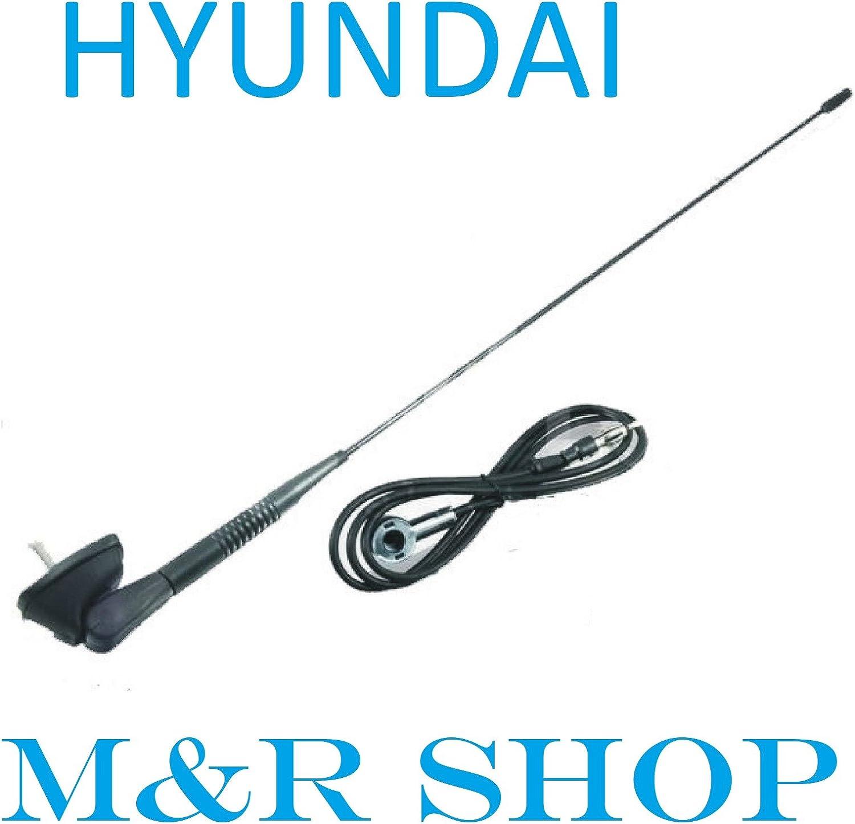 Hyundai Antena antena con base de antena y junta: Amazon ...