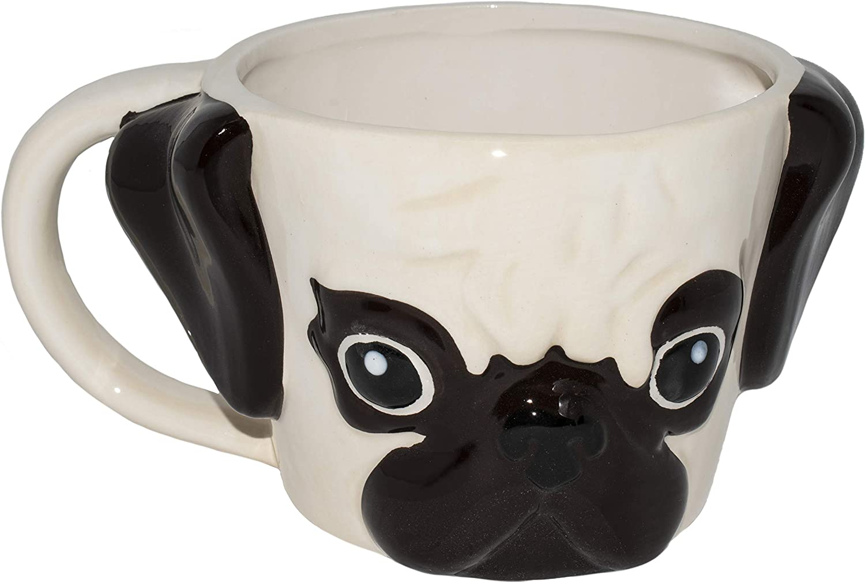 taza de cafe pug