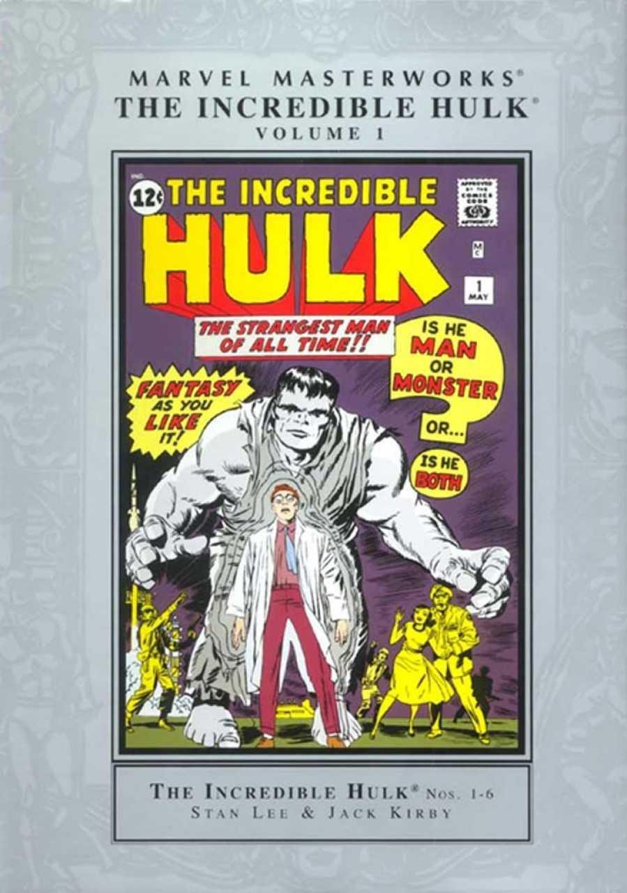 The Incredible Hulk, Volume 1 (Marvel Masterworks, Volume 1) PDF