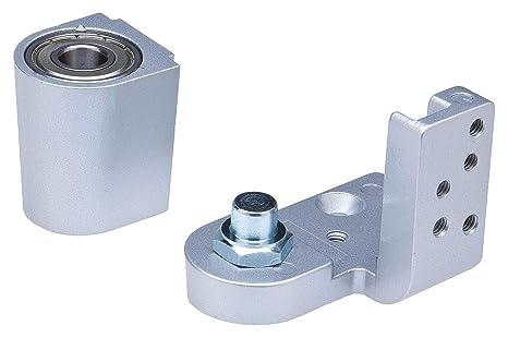 Offset Pivot Hinge 125 lb. Half Surface