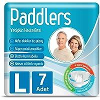 Paddlers 8681371831602 Yetişkin Bezi Large 7 Adet, Beyaz