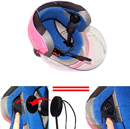 Motorbike Bluetooth Helmet Headset Intercom Motorbike Elektronik