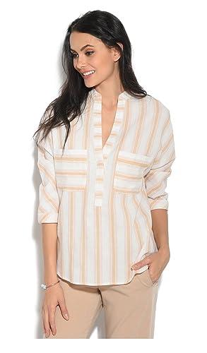 Orfeo Camisa Remi Rosa/Blanco Mujer Colección Primavera/Verano
