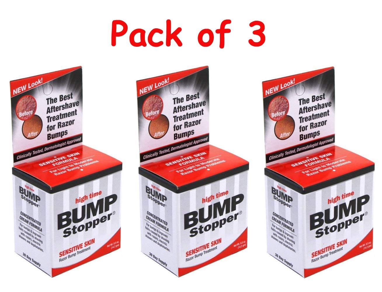 High Time Bump Stopper Sensitive Skin 0.5oz Treatment (3 Pack) 43429003030