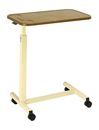 days - tavolino con rotelle da letto, altezza regolabile, ripiano ... - Tavolino Per Letto Con Rotelle