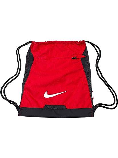 Nike Alpha Adapt Gymsack Mochila, Hombre, Rojo (University Red/Black/White