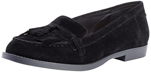 New Look Liverpool Tassel - Mocasines Mujer, Negro (01/Black), 36
