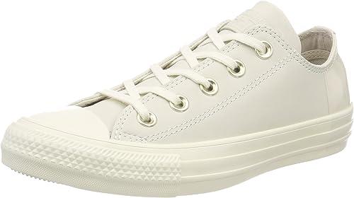 Converse Chuck Taylor CTAS Ox Nubuck, Chaussures de Fitness