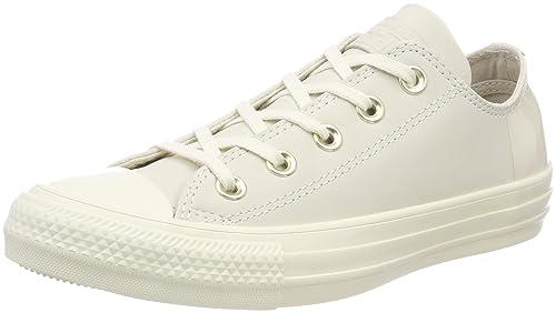 2bb202a21e1e10 Converse Unisex Adults  Chuck Taylor CTAS Ox Nubuck Fitness Shoes ...