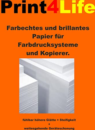 125 hojas de 200g / m² papel mate A3 para los sistemas de ...