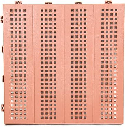 Piastrelle Plastica Da Esterno.Piastrella Mattonella In Plastica Da Esterno E Giardino 40x40