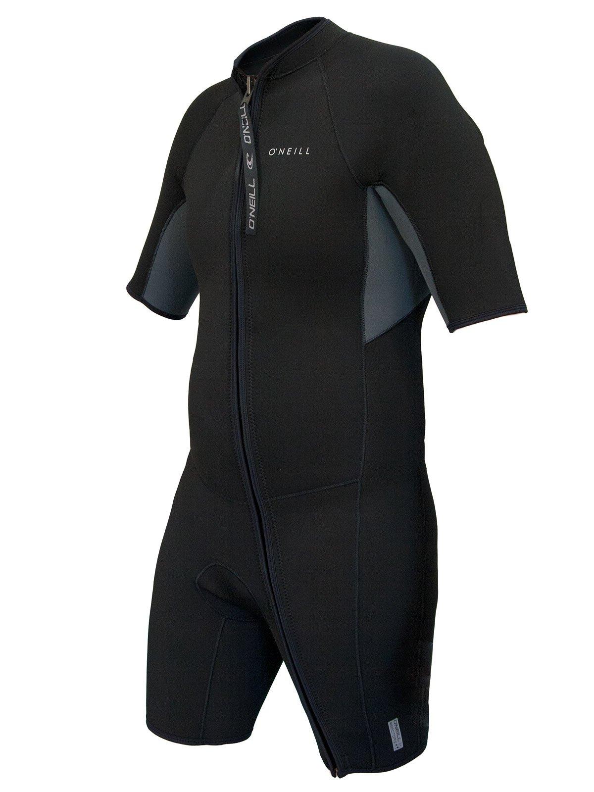 O'Neill Reactor-2 Men's Front Zip Spring Medium Tall Black/Graphite (5064IS)