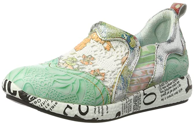 Burton 02, Sneaker Donna, Verde (Vert), 35 EU Laura Vita