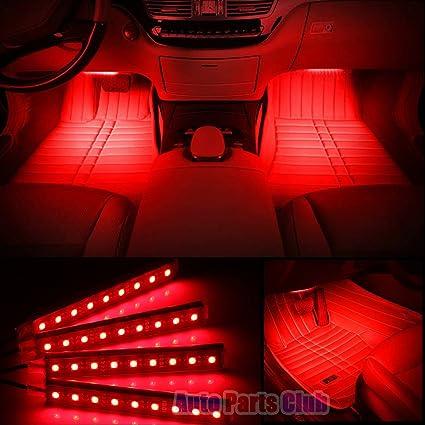 Led Light Strips For Car Interior Unique Amazon Car Interior LightsAuto Parts Club 60pcs 60V Led Car