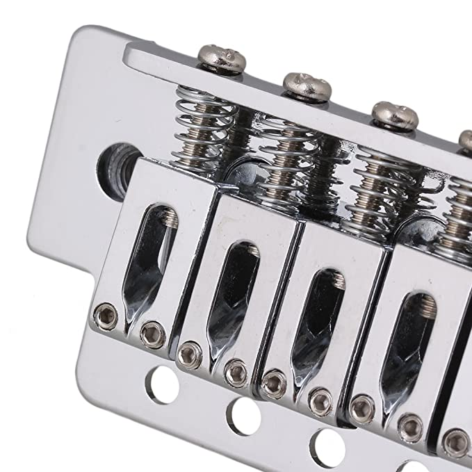 BQLZR cromo moderno guitarra Trémolo para guitarra eléctrica de 6: Amazon.es: Instrumentos musicales