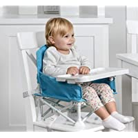 Regalo My Chair 2-In-1 Portable Travel Booster Seat & Activity Chair, Bonus Kit Includes, Oversized Removable Tray with…