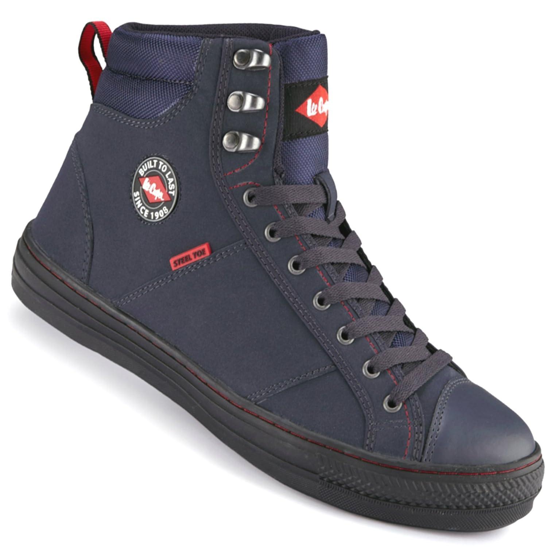 Chaussure bleu marine à lacets Lee Cooper sports –Tailles 35 à 45