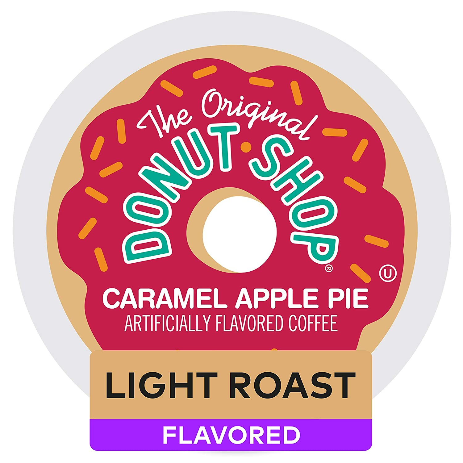 The Original Donut Shop Caramel Apple Pie Coffee, Single-Serve K-Cup Pods, 96 Count