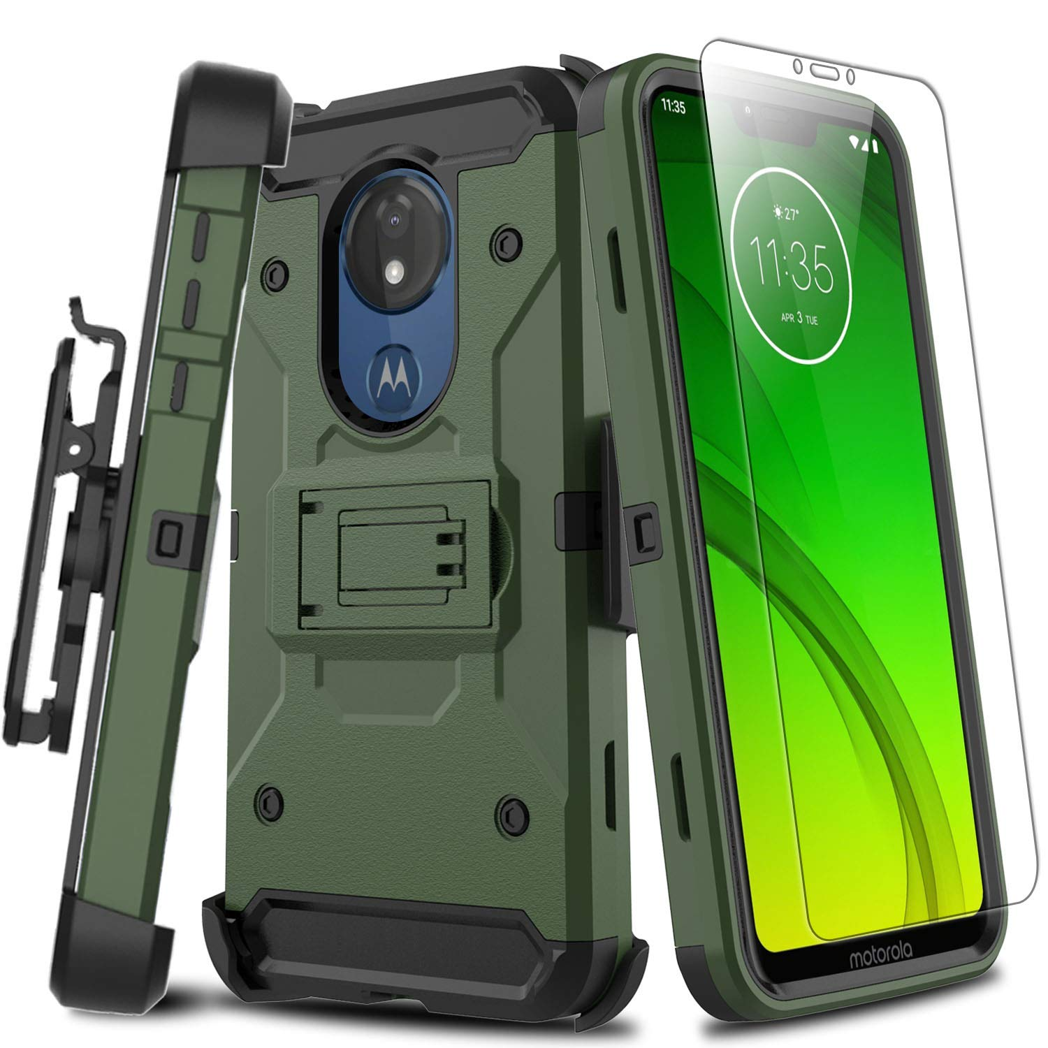 Funda para Moto G7 Power Con Pie YANTAN (7RWZ1PTM)
