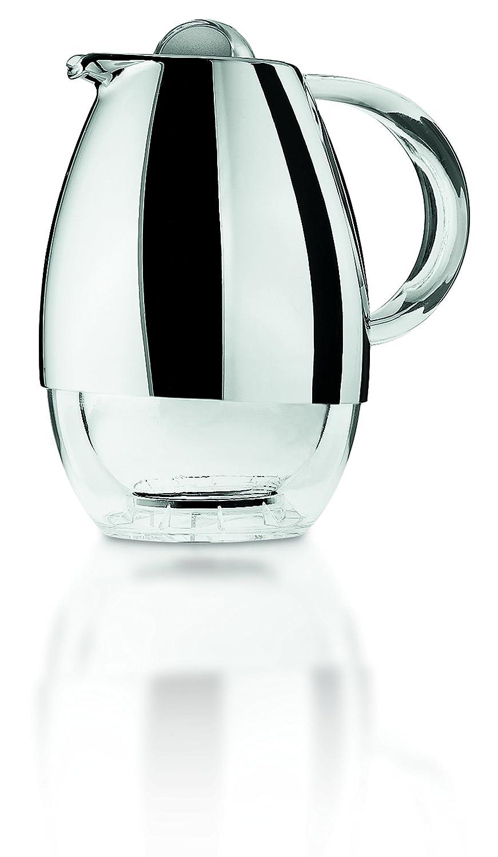 Guzzini Fratelli Look PMMA|PP|TPR|ABS Chrome Finish|Insulating Glass Jarra t/érmica