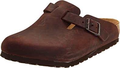 Birkenstock Unisex Boston Leather Clog