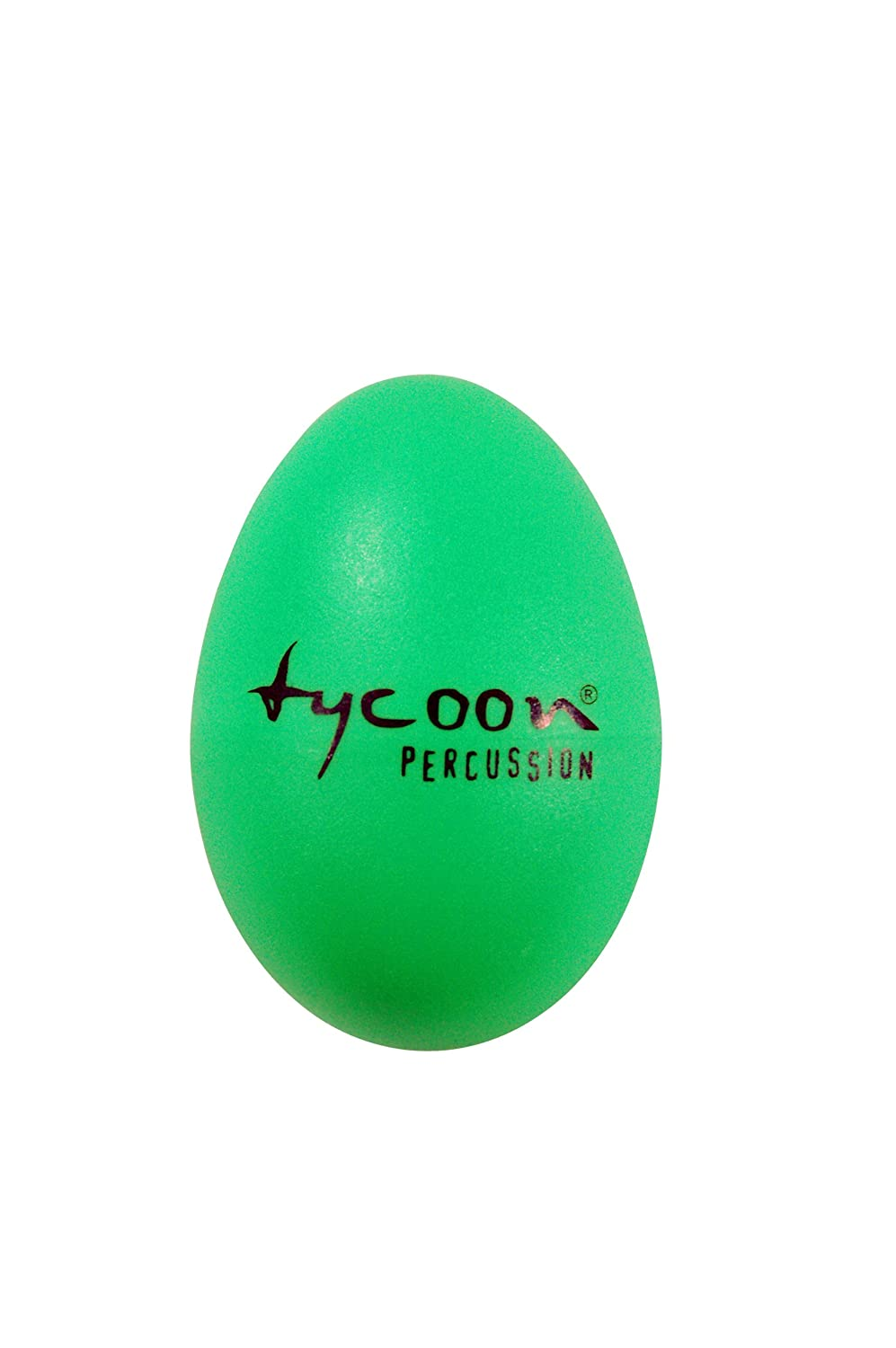 Tycoon Percussion Plastic Egg Shakers - Green - TE-G