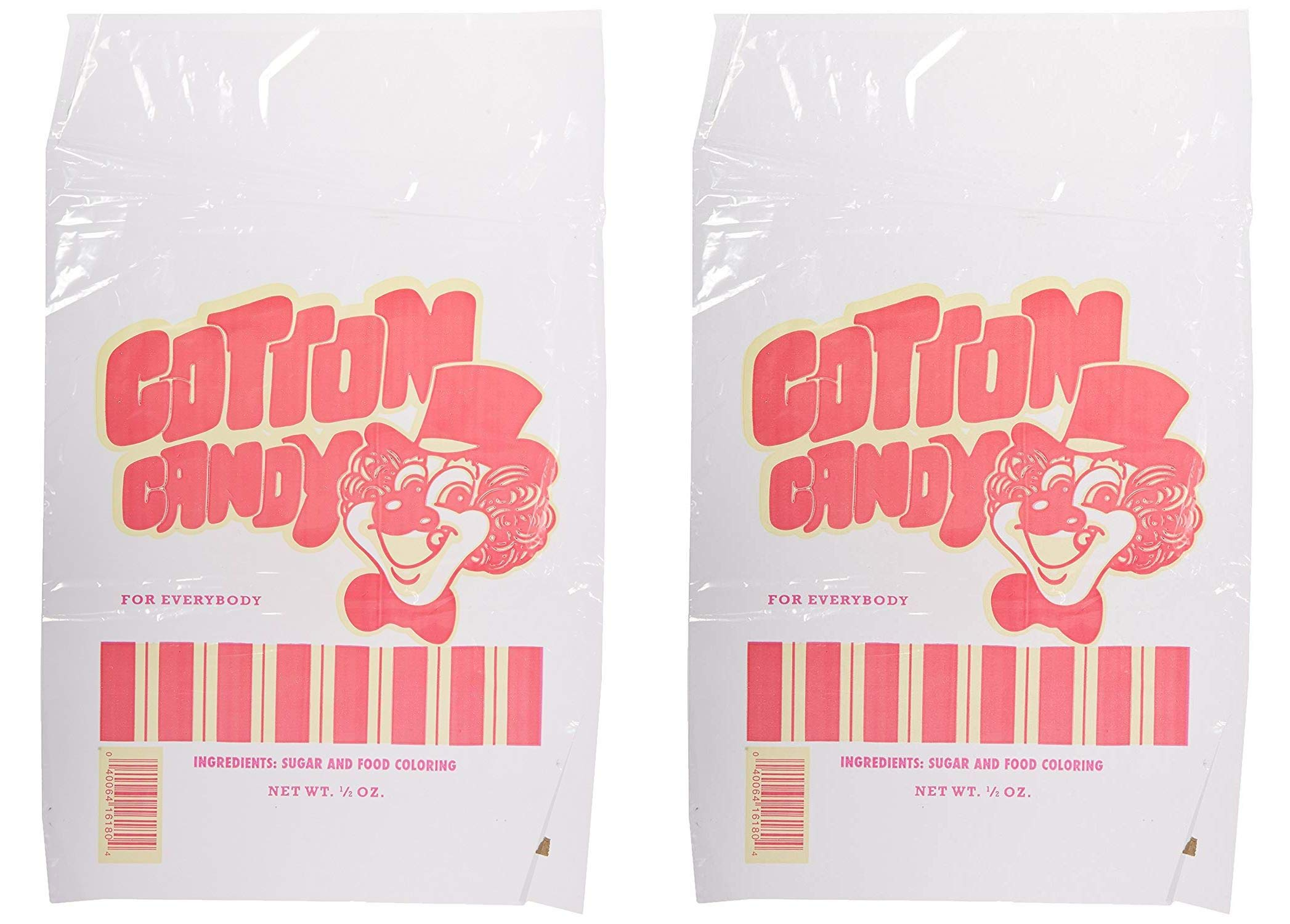 Benchmark 83001 Cotton Candy Bag (Case of 100) (Twо Pаck)
