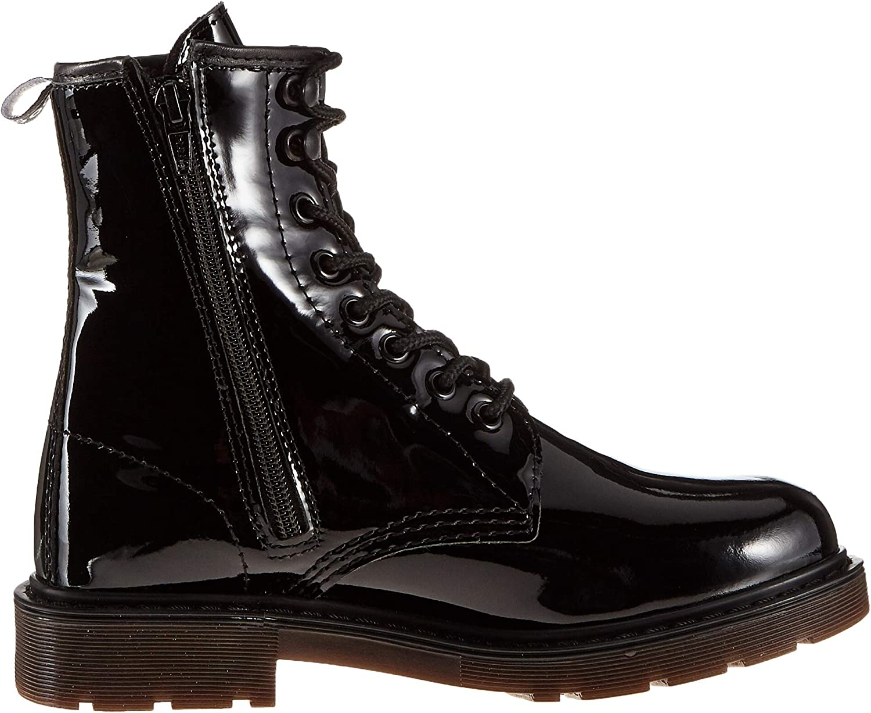 Dockers by Gerli Damen 45en201 Combat Boots Schwarz Schwarz 150100