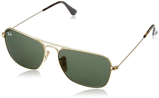 Ray-Ban Caravan Sonnenbrille Gold 181 55mm cmSNyyvJr