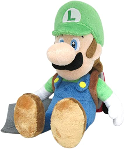 Little Buddy 1353 Super Mario Series Luigi S Mansion 10 Luigi With Ghost Vacuum Poltergust Plush
