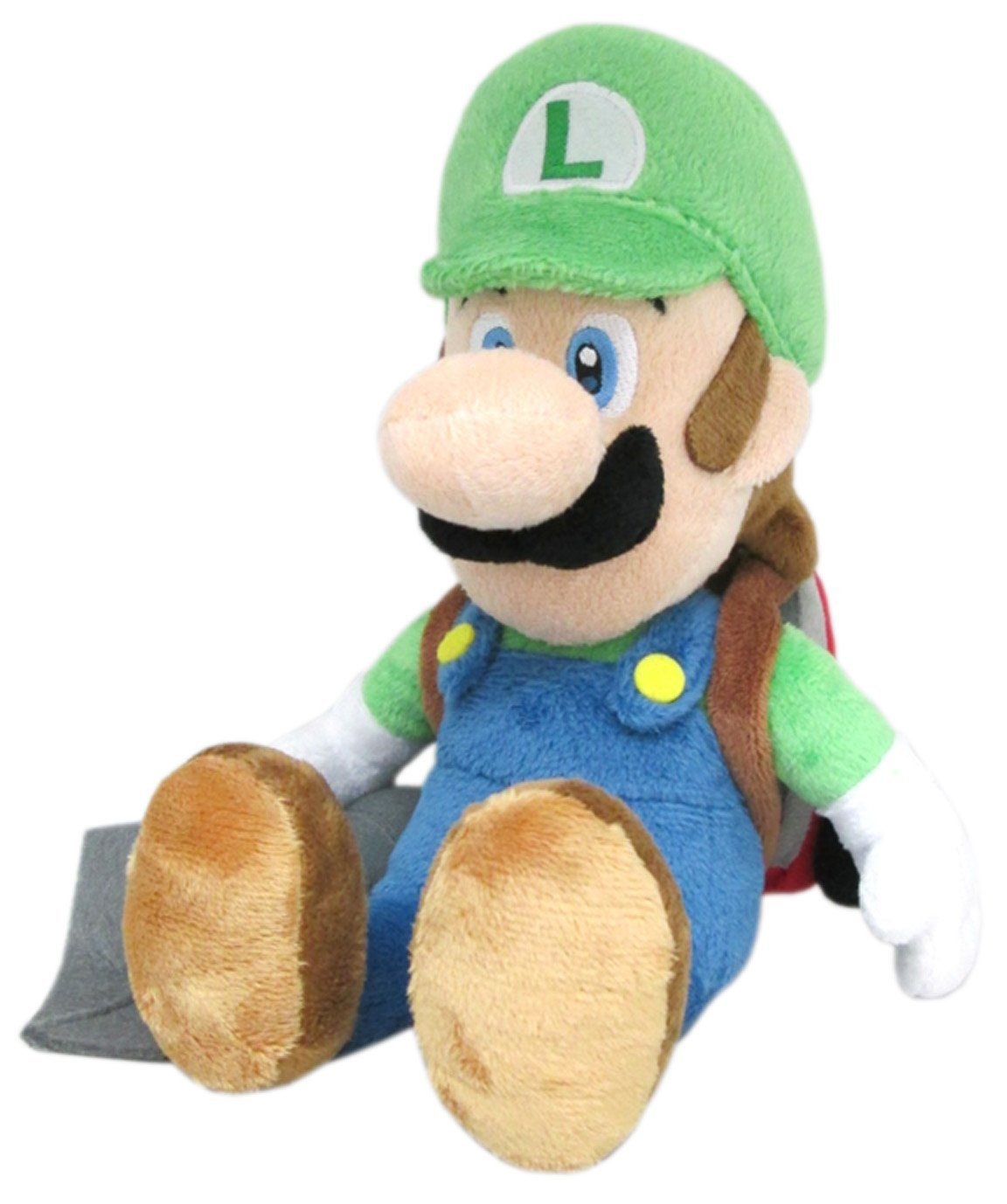 Official Nintendo Super Mario Plush Series Stuffed Toy 10 Luigi With Ghost Vacuum Plush