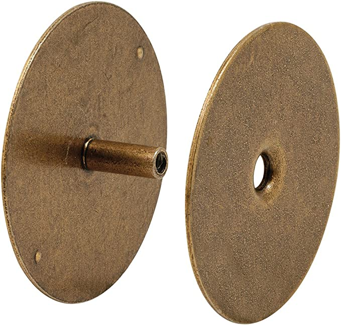Brass NU-Set 2171-3 NuSet Door Hole Cover Plate