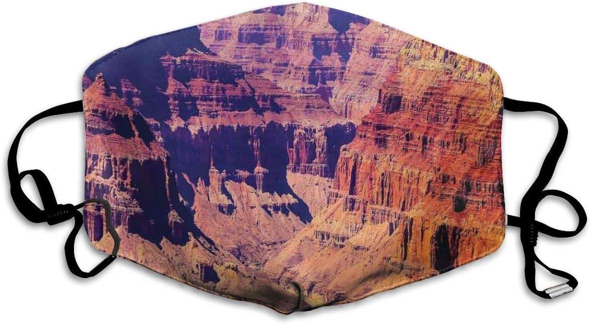 Facial Protection,Gran Cañón En Arizona con Elevaciones De La Base Norteamericano Sublime Tribal Paisaje Cara Boca, Hermosa Cubierta Sanitaria