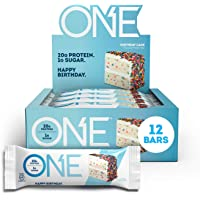 ONE Protein Bars, Birthday Cake, Gluten Free Protein Bars with 20g Protein and only 1g Sugar, Guilt-Free Snacking for…