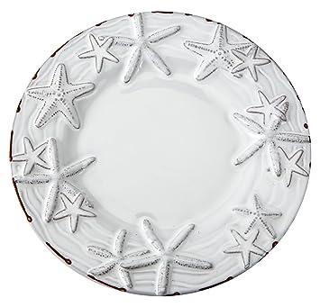 Mud Pie 104022 Starfish Dessert Salad Plate 8\u0026quot; ...  sc 1 st  Amazon.com & Amazon.com | Mud Pie 104022 Starfish Dessert Salad Plate 8\